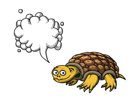 snapping turtle: turtle-100