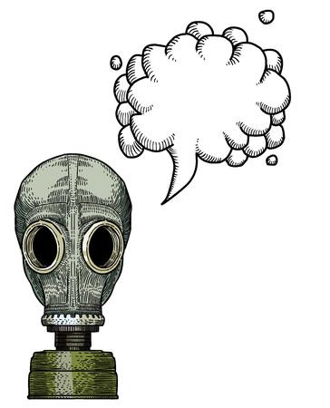 gas mask-100