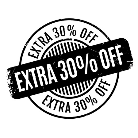 Extra 30% Off rubber stamp Çizim
