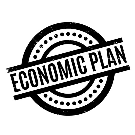 Economic Plan rubber stamp