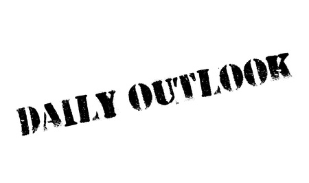 Daily Outlook rubber stamp