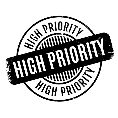 priority: High Priority rubber stamp