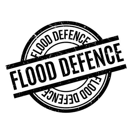 disaster: Flood Defence rubber stamp
