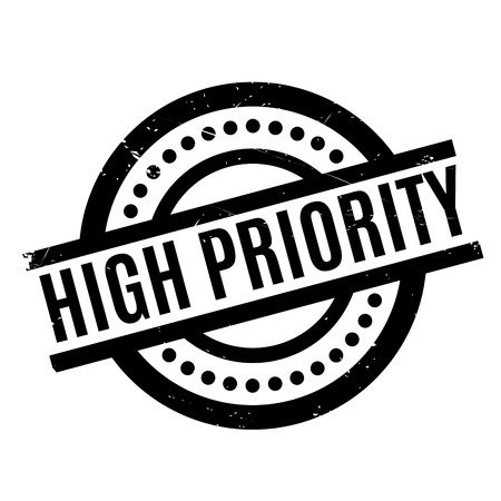 precedence: High Priority rubber stamp