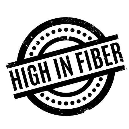 High In Fiber rubber stamp