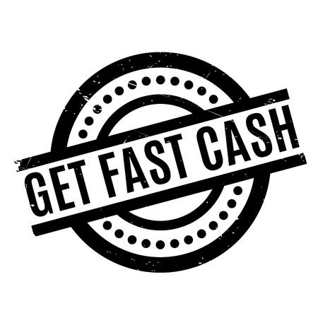 Get Fast Cash rubber stamp