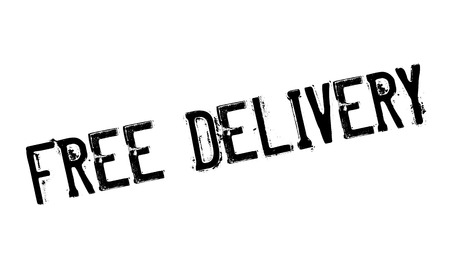 Free Delivery rubber stamp