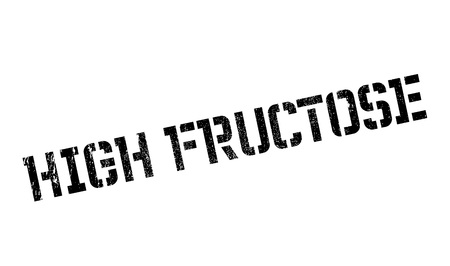 High Fructose rubber stamp