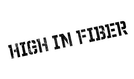 bowel: High In Fiber rubber stamp