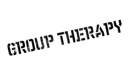 Group Therapy rubber stamp