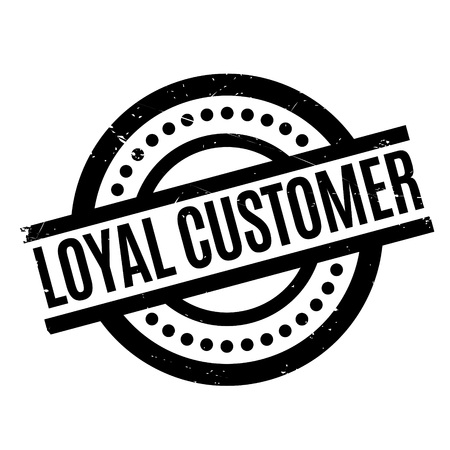 Loyal Customer rubber stamp