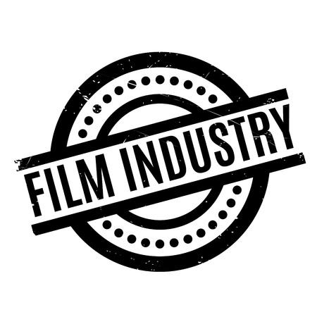 Film Industry rubber stamp Illustration