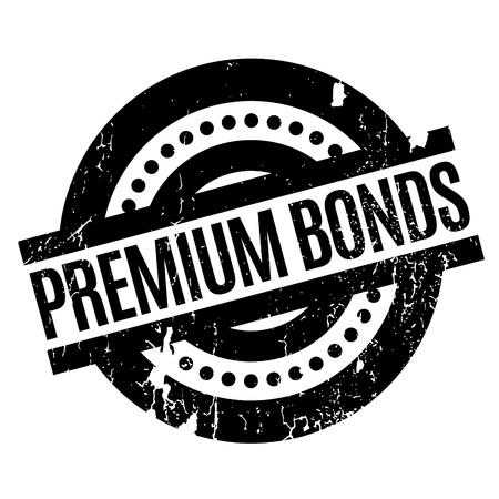 Premium Bonds rubber stamp