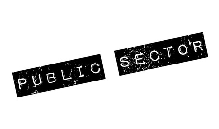 Public Sector rubber stamp Stock Vector - 81319029