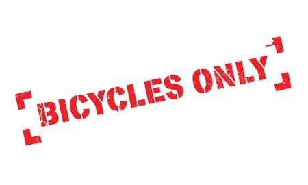 Biciclette Solo timbro in gomma