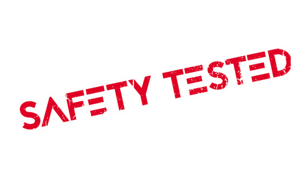 Safety Tested rubber stamp