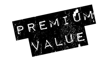 Premium Value rubber stamp Illustration