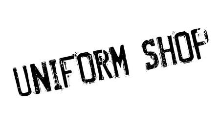 emporium: Uniform Shop rubber stamp