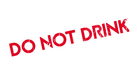 potation: Do Not Drink rubber stamp