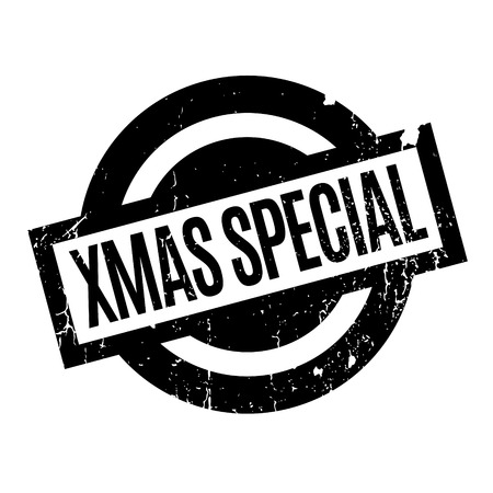 Xmas Special rubber stamp