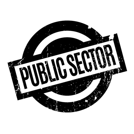 Public Sector rubber stamp Stock Vector - 81319581
