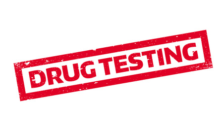 Drug Testing rubber stamp