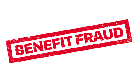 Benefit Fraud rubber stamp Çizim