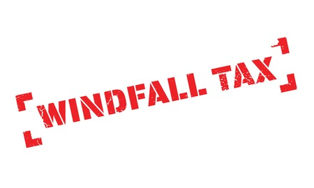 Windfall Tax rubber stamp
