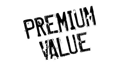 Premium Value rubber stamp Stock Vector - 81319761