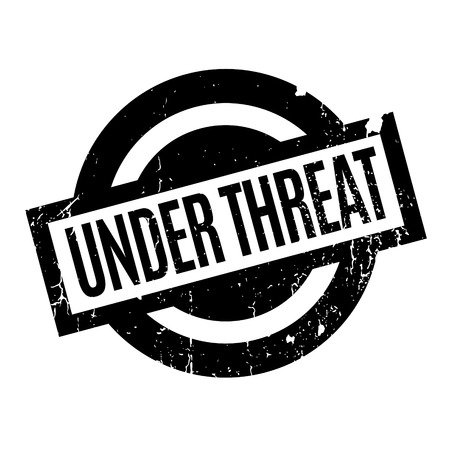 menace: Under Threat rubber stamp