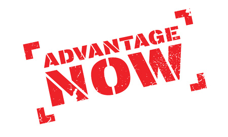 Advantage Now rubber stamp
