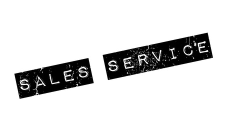 Sales Service rubber stamp