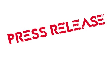 Press Release rubber stamp 向量圖像