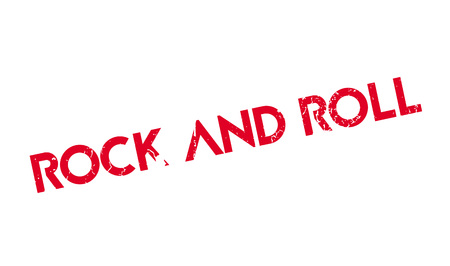 Rock And Roll rubber stamp