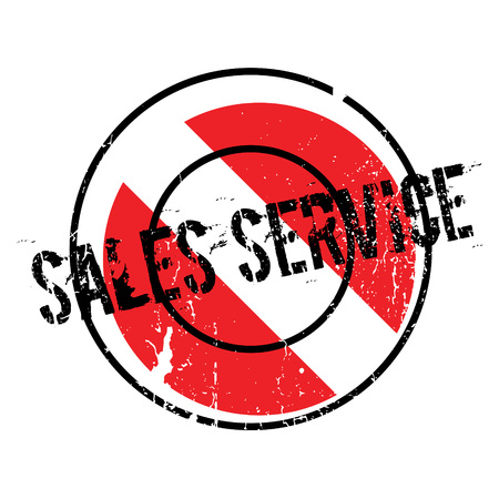 usefulness: Sales Service rubber stamp