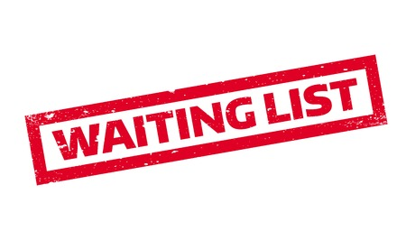 Waiting List rubber stamp