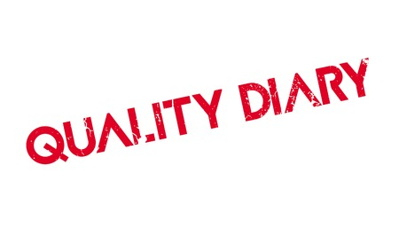Quality Diary rubber stamp