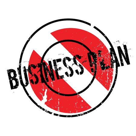 Business Plan rubber stamp