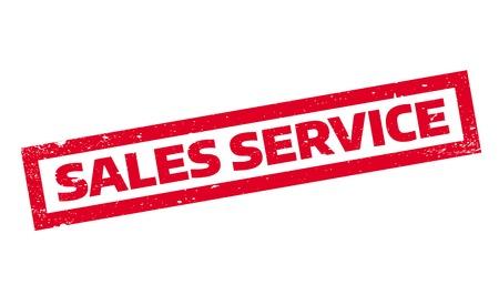 advantages: Sales Service rubber stamp