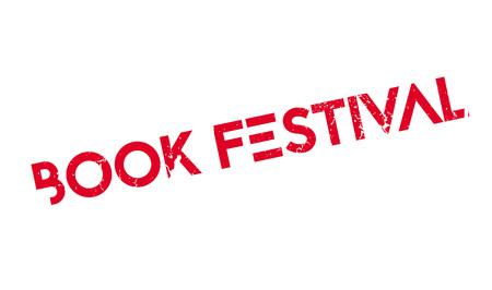 Book Festival rubber stamp