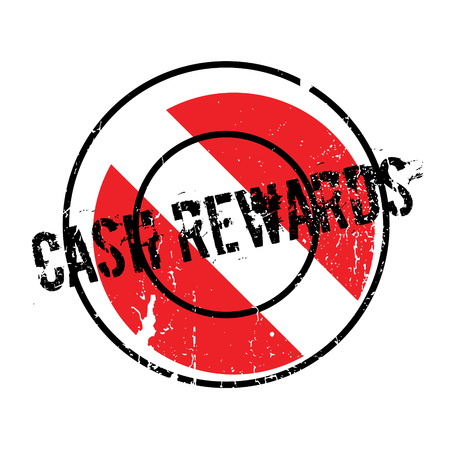 Cash Rewards rubber stamp