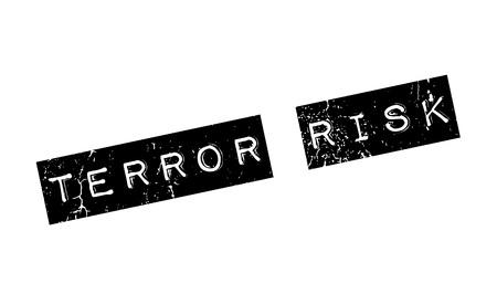 Terror Risk rubber stamp