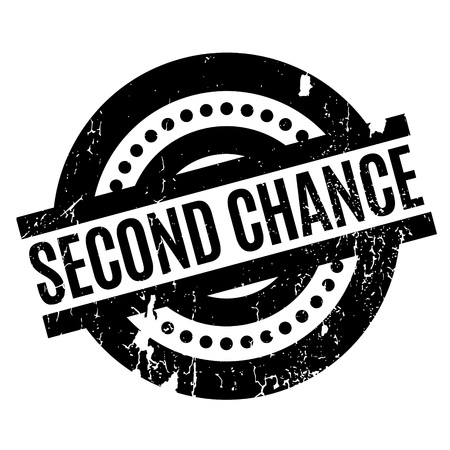 Second Chance rubber stamp