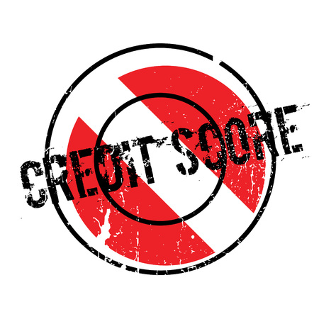 worthy: Credit Score rubber stamp