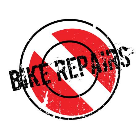 Bike Repairs rubber stamp