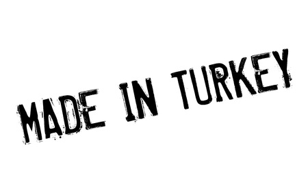 Made In Turkey rubber stamp Illustration