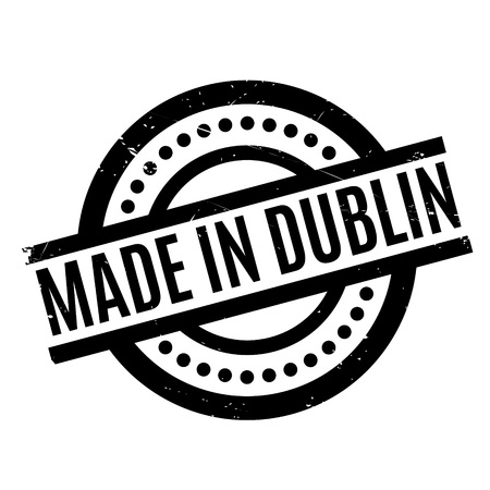 eire: Made In Dublin rubber stamp Illustration
