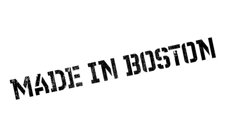 outfielder: Made In Boston rubber stamp