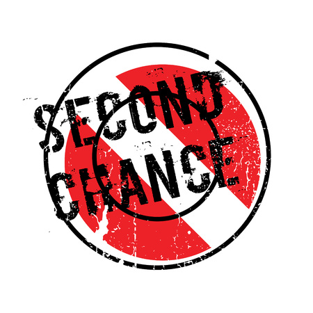 luckiness: Second Chance rubber stamp