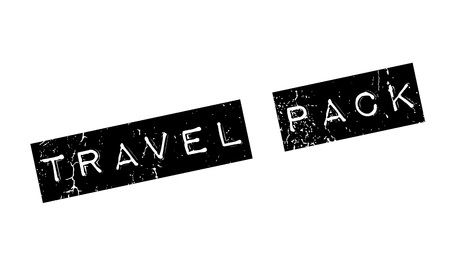 bale: Travel Pack rubber stamp